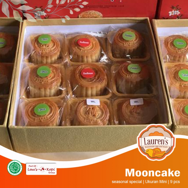 Mini Mooncake 9 pcs